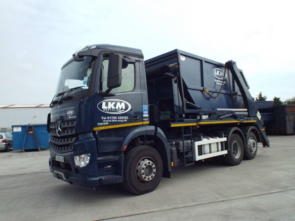 Waste Skip Hire in Sittingbourne & Kent | LKM Recycling