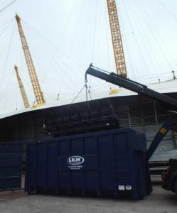 Industrial Work completed at the o2