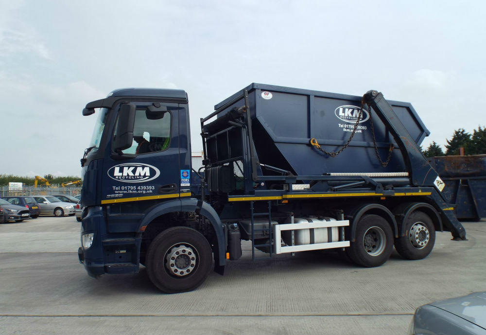 Skip Lorry for Wood Waste