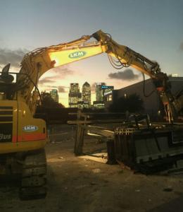 LKM Grab with London Backdrop